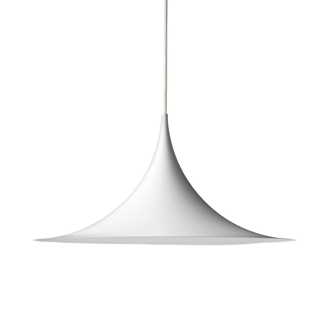 Gubi Semi Hanglamp �47 cm. Mat Wit