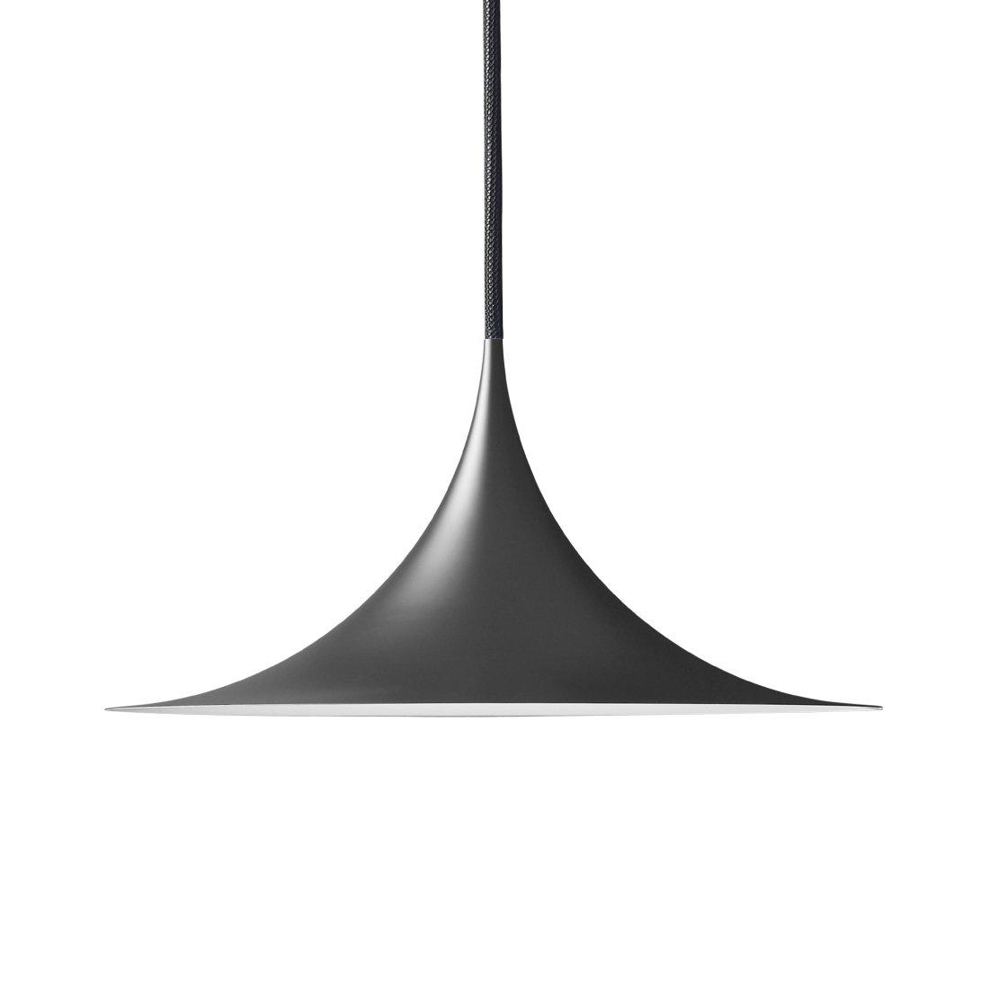 Gubi Semi Hanglamp �47 cm. Mat Zwart