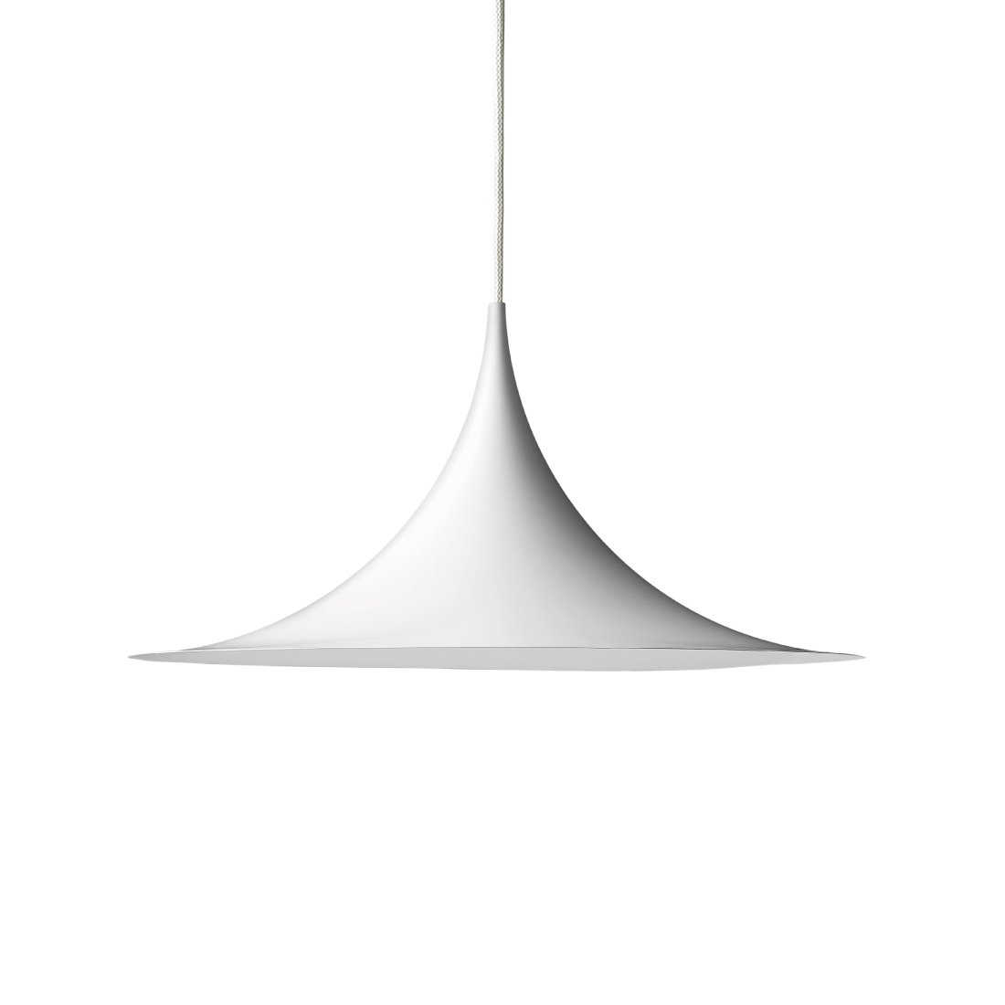 Gubi Semi Hanglamp �30 cm. Wit