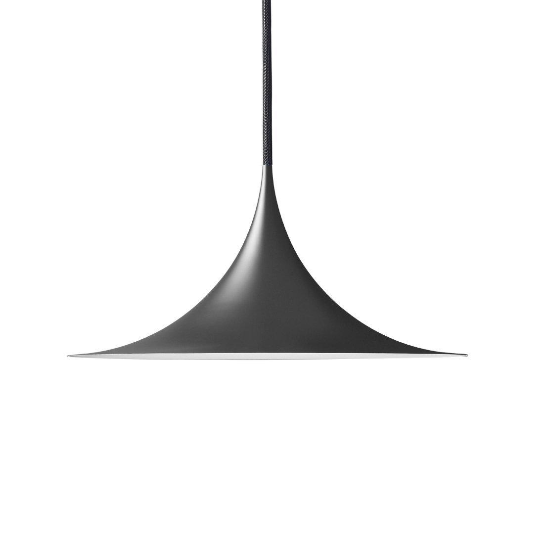 Gubi Semi Hanglamp Ø30 cm. Zwart