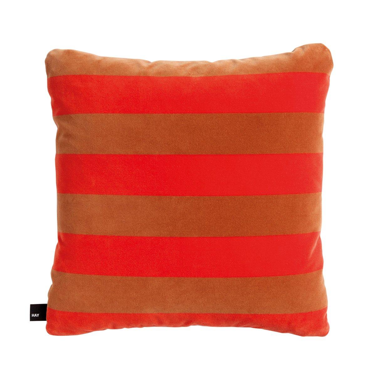 HAY Soft Stripe Kussen Red