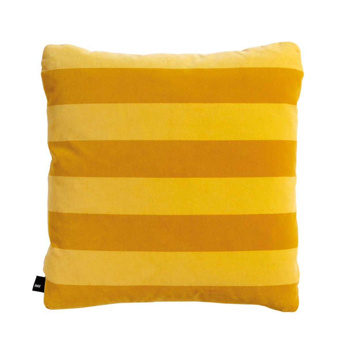 HAY Soft Stripe Kussen Yellow