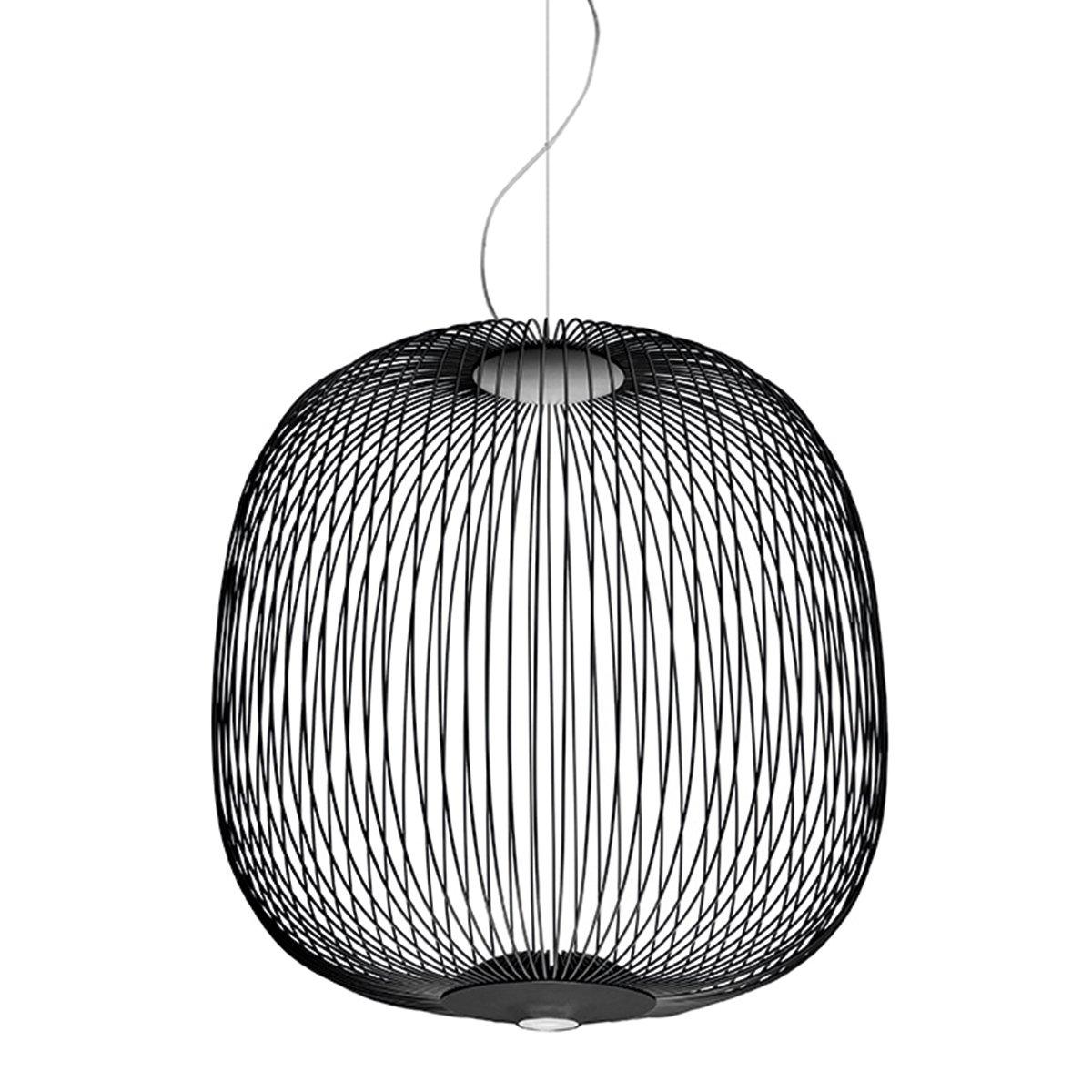 Foscarini Spokes 2 Hanglamp Dimbaar - Zwart