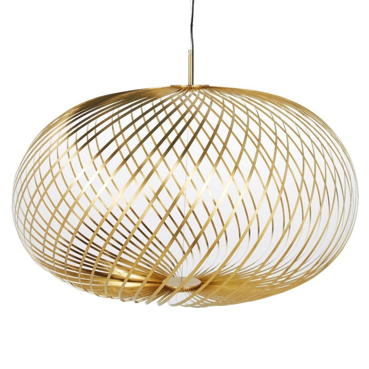 Tom Dixon Spring Hanglamp - Messing - Large