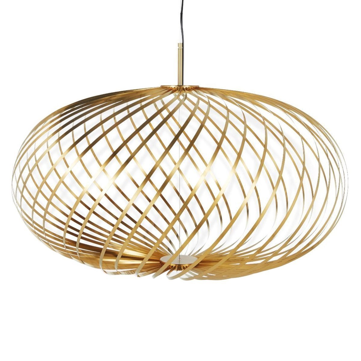 Tom Dixon Spring Hanglamp - Messing - Medium