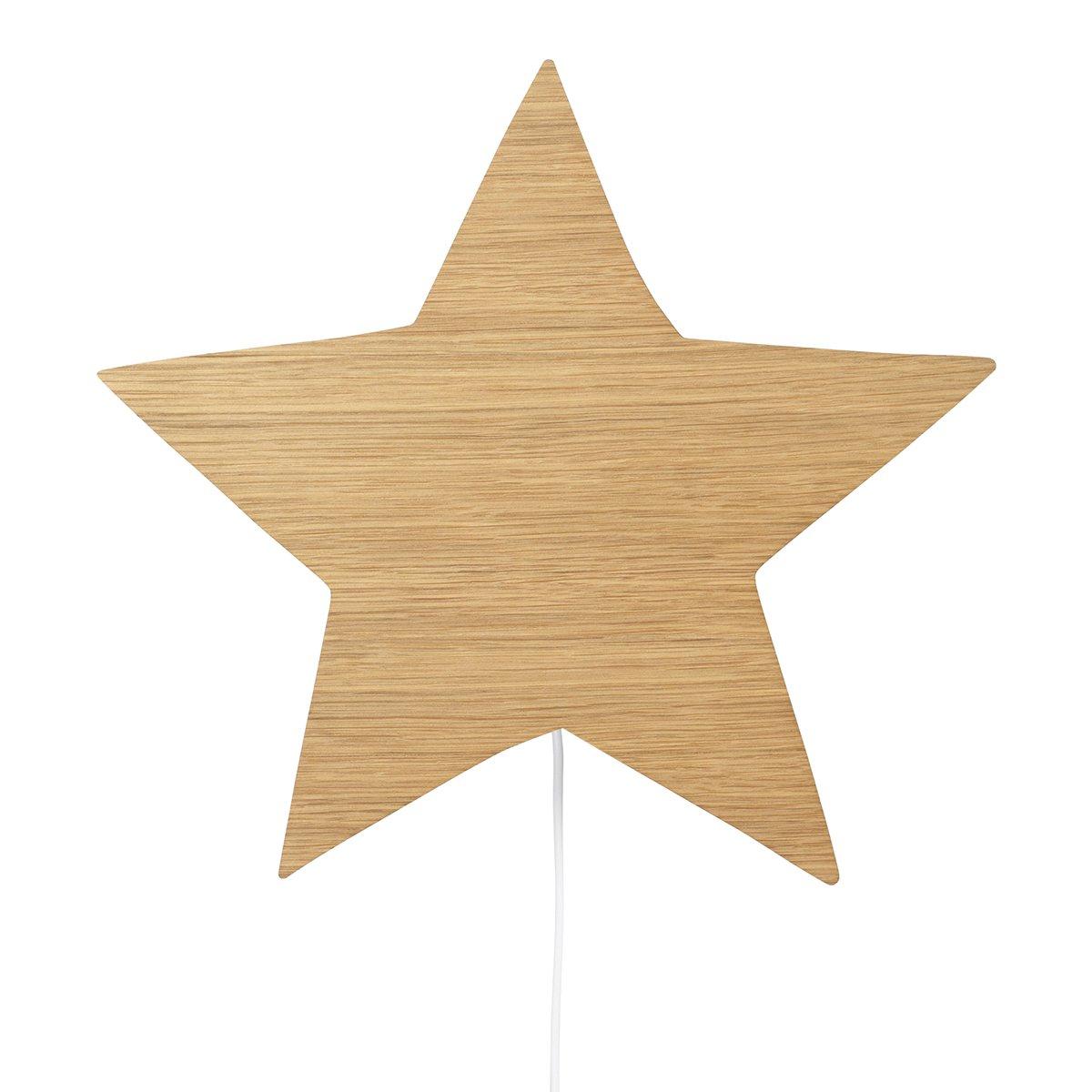 Ferm Living Star Wandlamp - Geolied Eiken