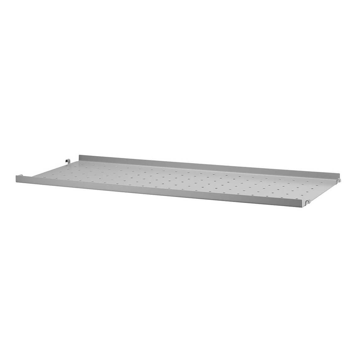 String Metal Shelf Low Edge 78 x 20 cm. - Grijs