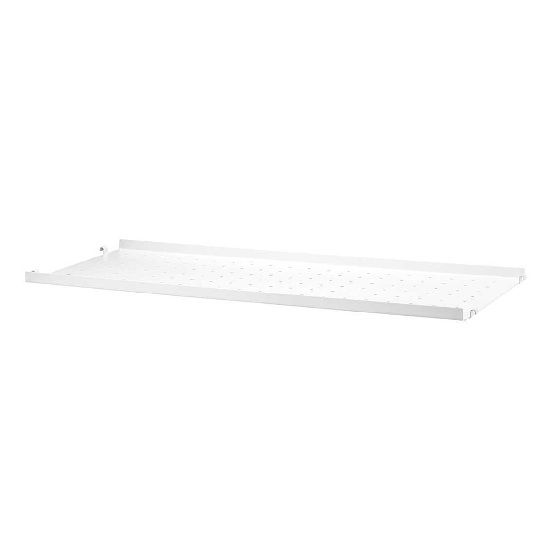 String Metal Shelf Low Edge 78 x 20 - Wit