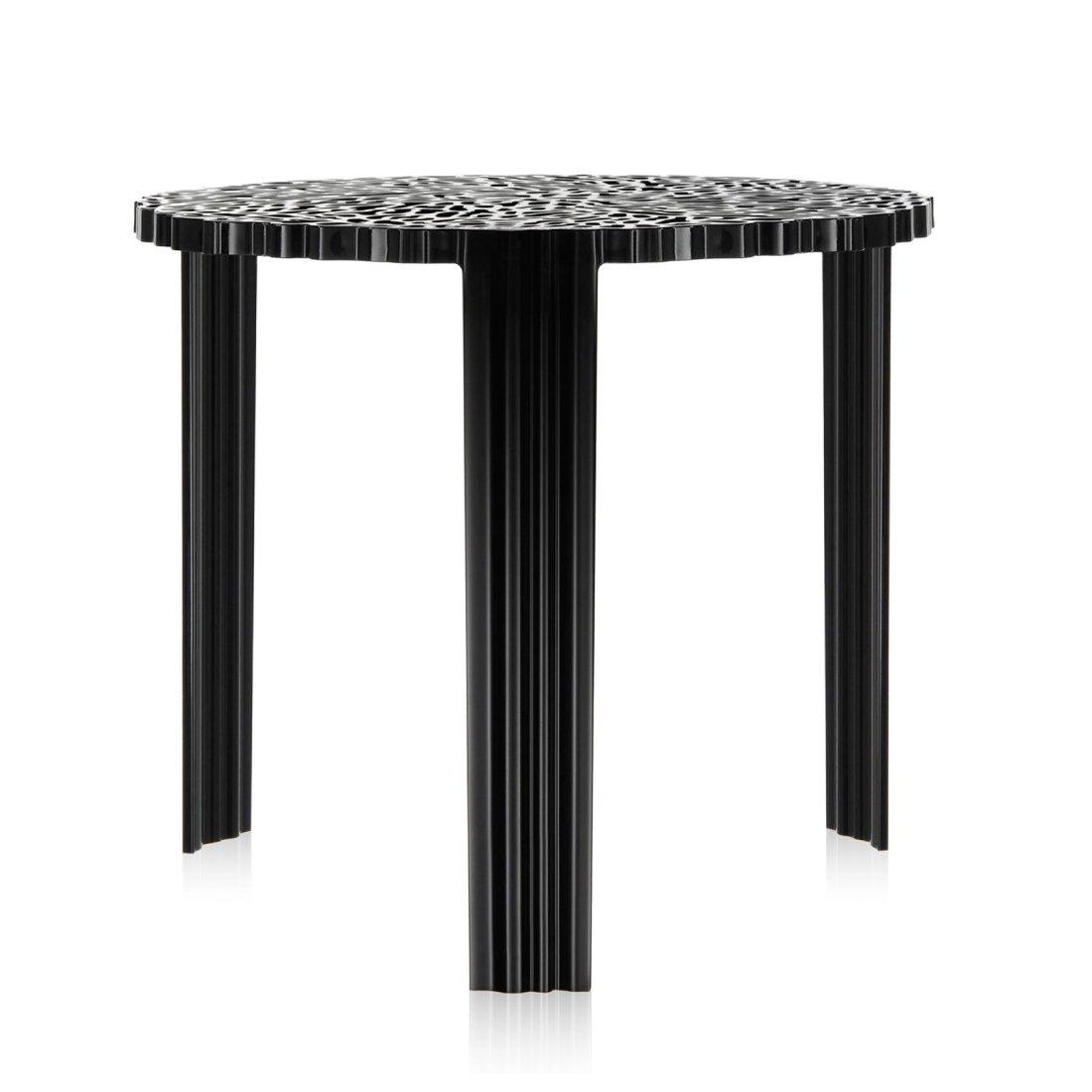 Kartell T-Table Tafel L � 50 cm Zwart