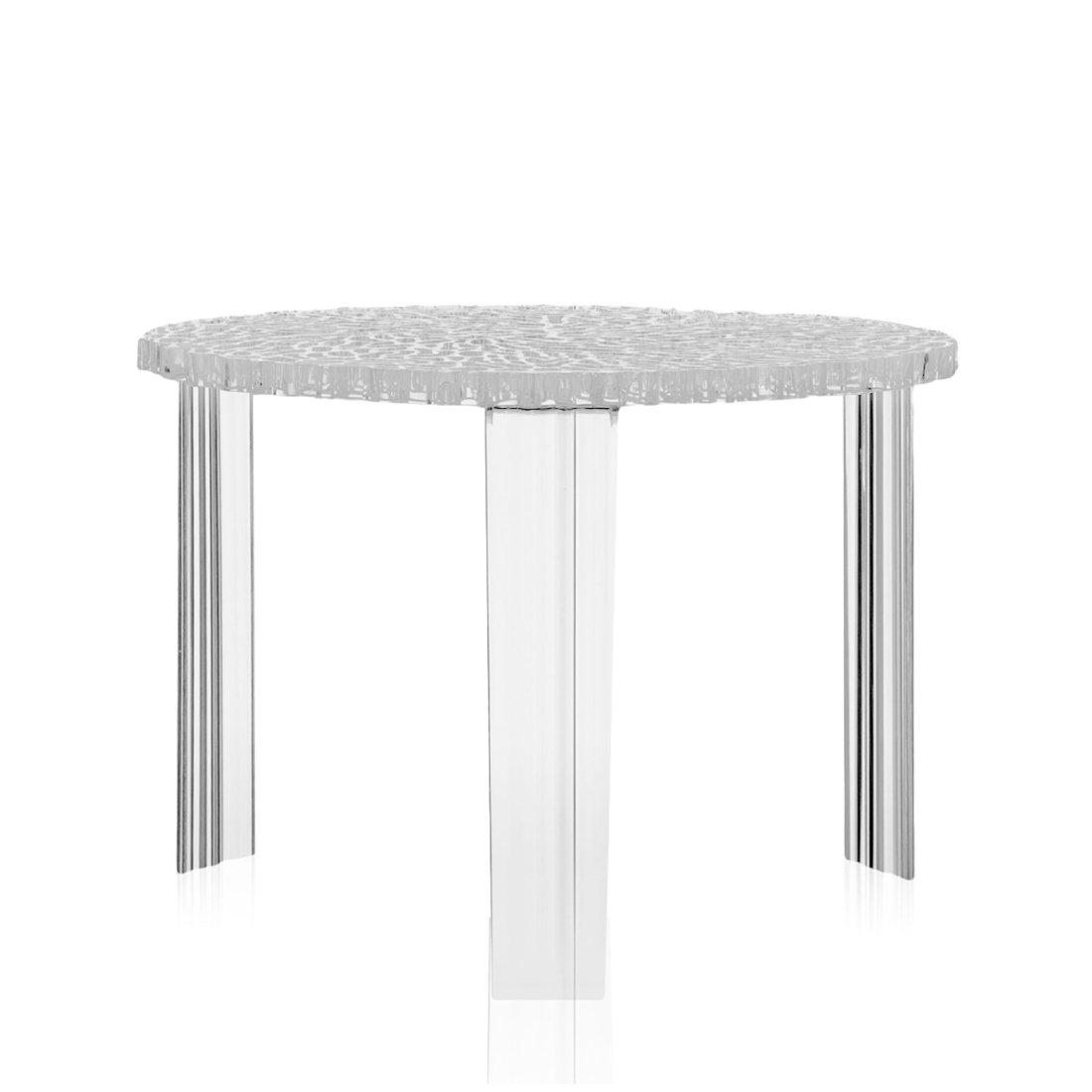 Kartell T-Table Tafel Hoog � 50 cm Kristal
