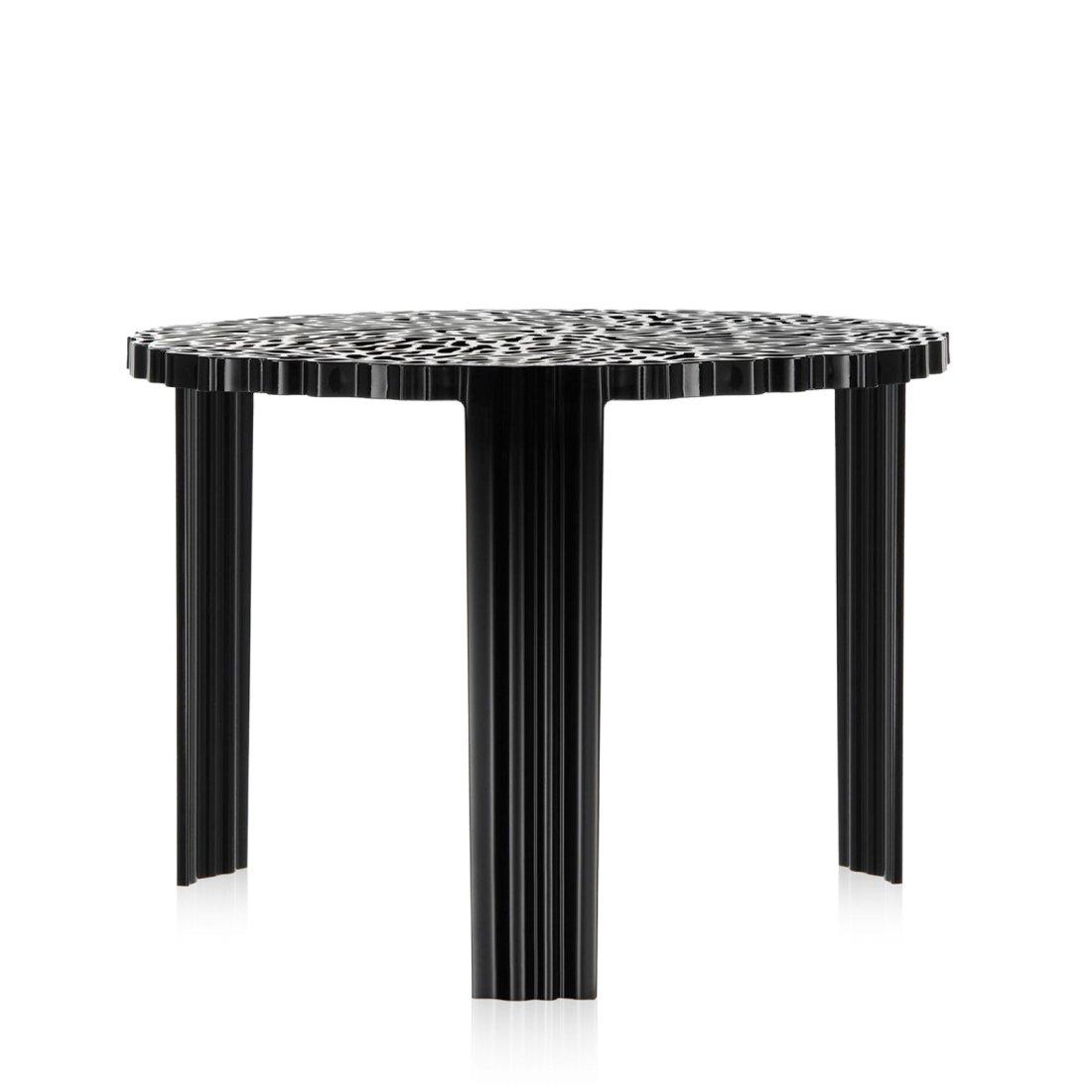 Kartell T-Table Tafel Hoog � 50 cm Zwart