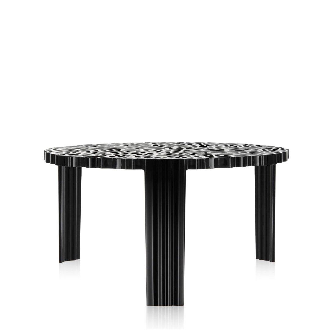 Kartell T-Table Tafel � 50 cm Zwart