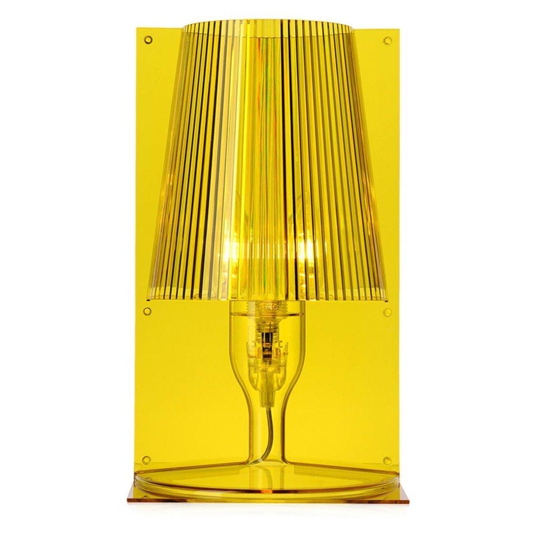 Kartell Take Tafellamp - Geel