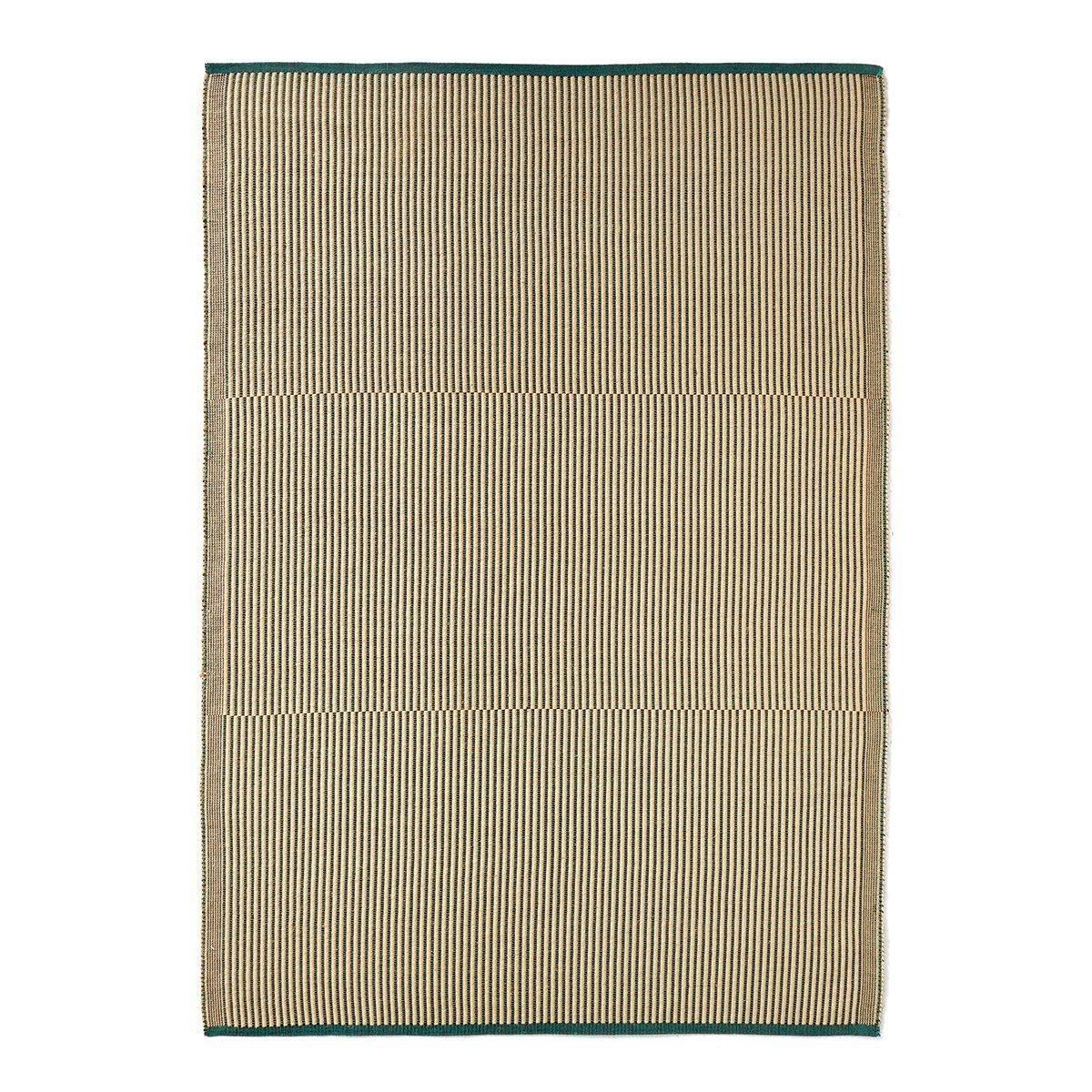 HAY Tapis Vloerkleed Black & Green - 200 x 80 cm.