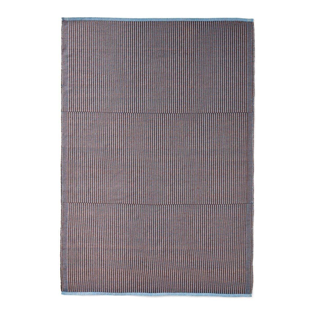 HAY Tapis Vloerkleed Chestnut & Blue - 200 x 140 cm.