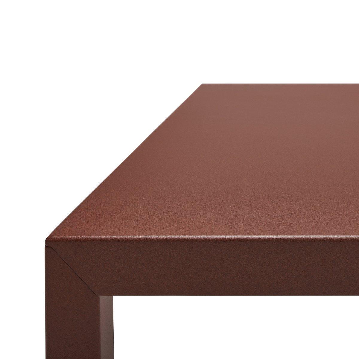MDF Italia Tense Eettafel Outdoor - 280x120 - Corten