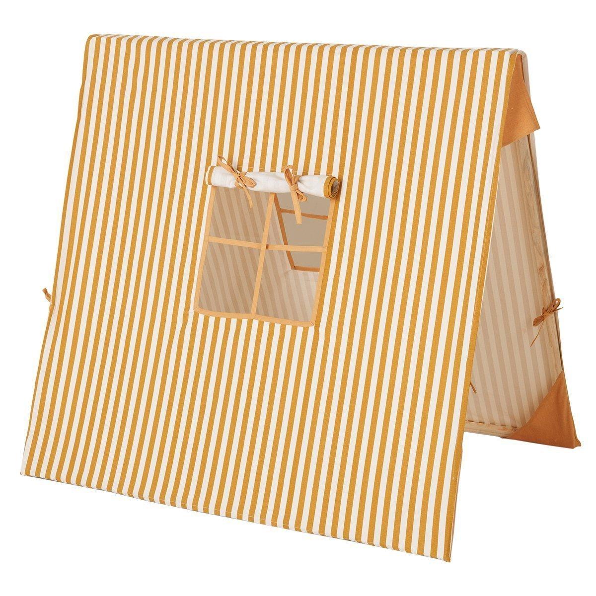 Ferm Living Striped Tent Mosterdgeel