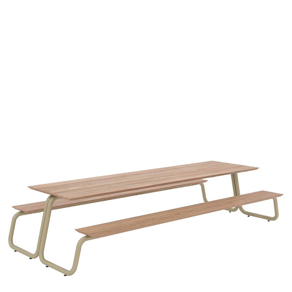 W�nder The Table Eettafel - Large Geelgrijs RAL7034