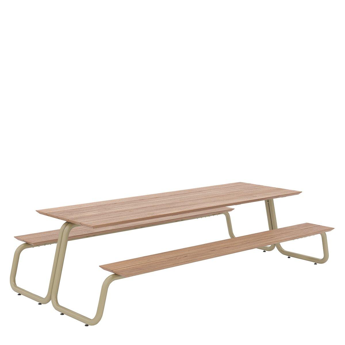 W�nder The Table Eettafel - Medium Geelgrijs RAL7034