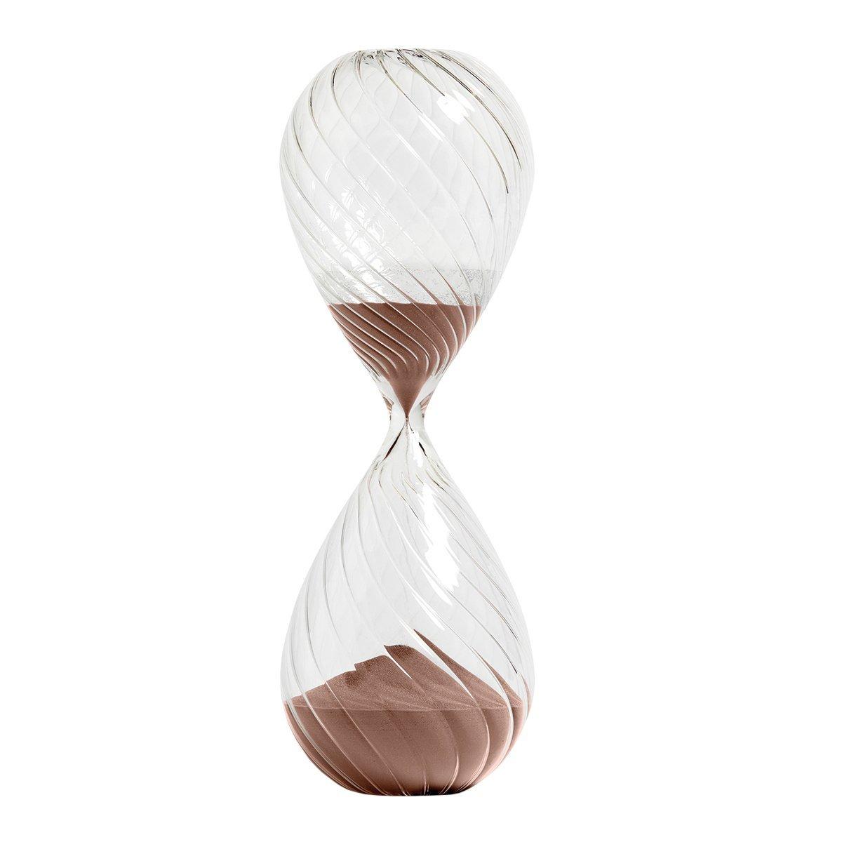 HAY Time Zandloper Swirl XXL - Koper