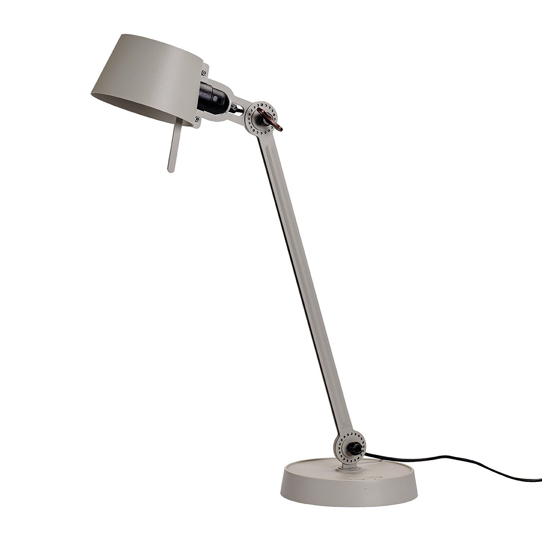 Tonone Bolt Bureaulamp E�n Arm Met Voet Ash Grey