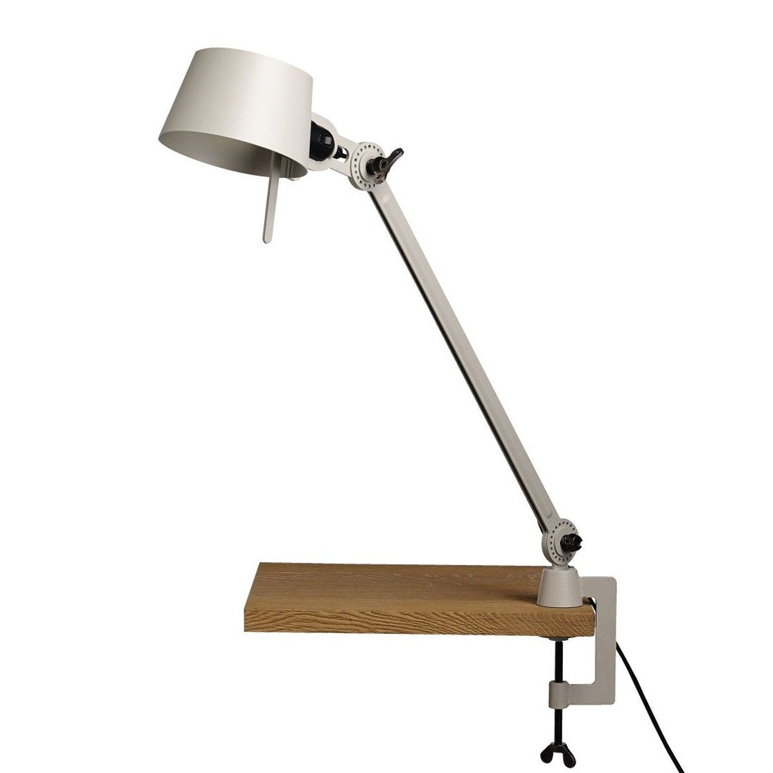 Tonone Bolt Bureaulamp E�n Arm Met Klem Ash Grey