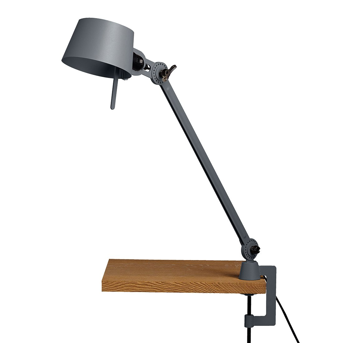 Tonone Bolt Bureaulamp E�n Arm Met Klem Midnight Grey