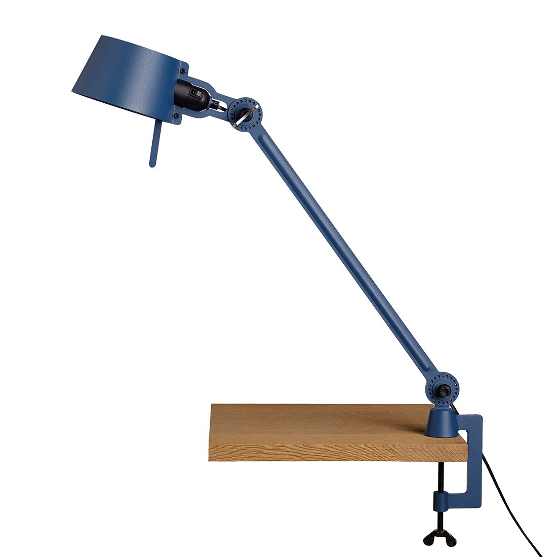 Tonone Bolt Bureaulamp E�n Arm Met Klem Thunder Blue
