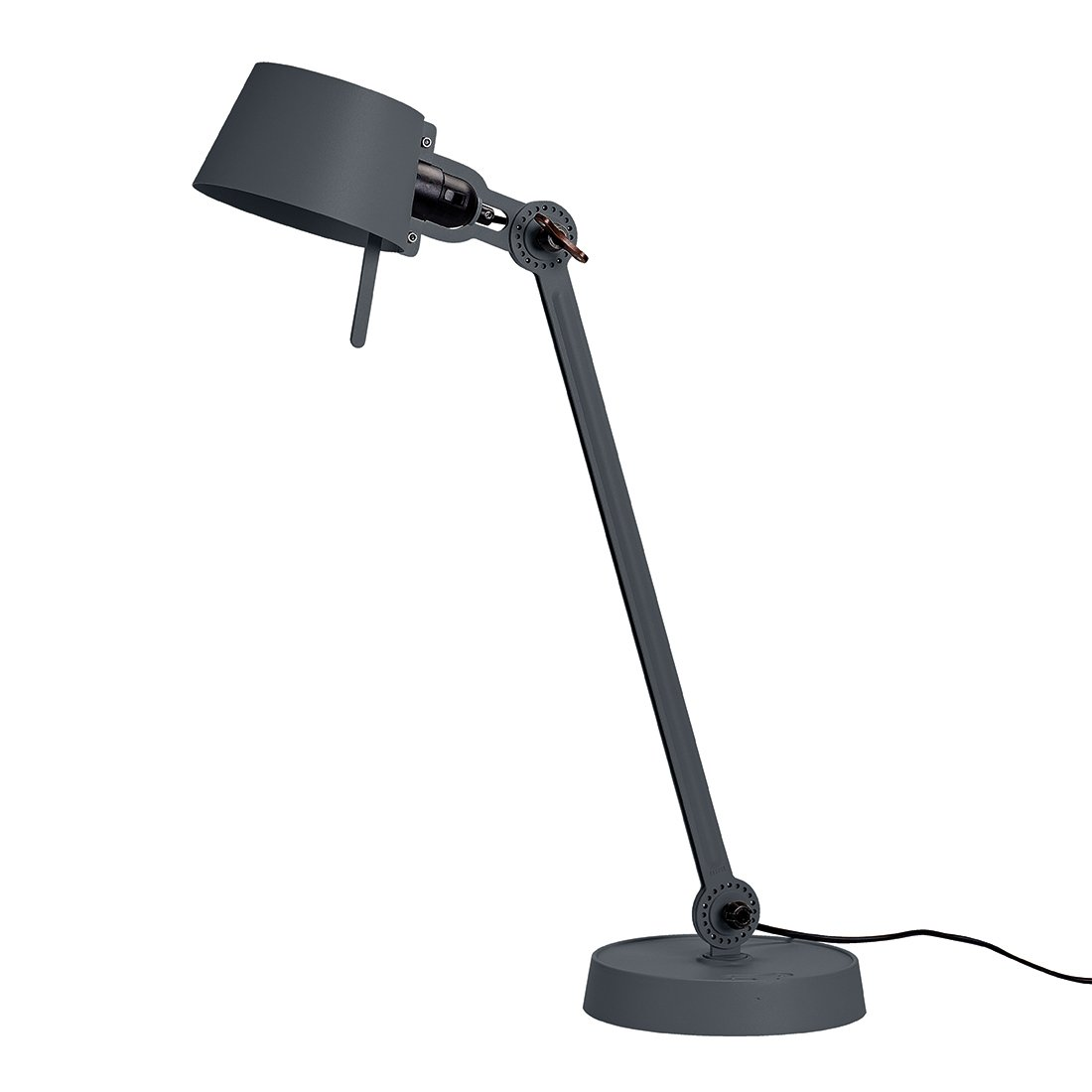 Tonone Bolt Bureaulamp E�n Arm Met Voet Midnight Grey