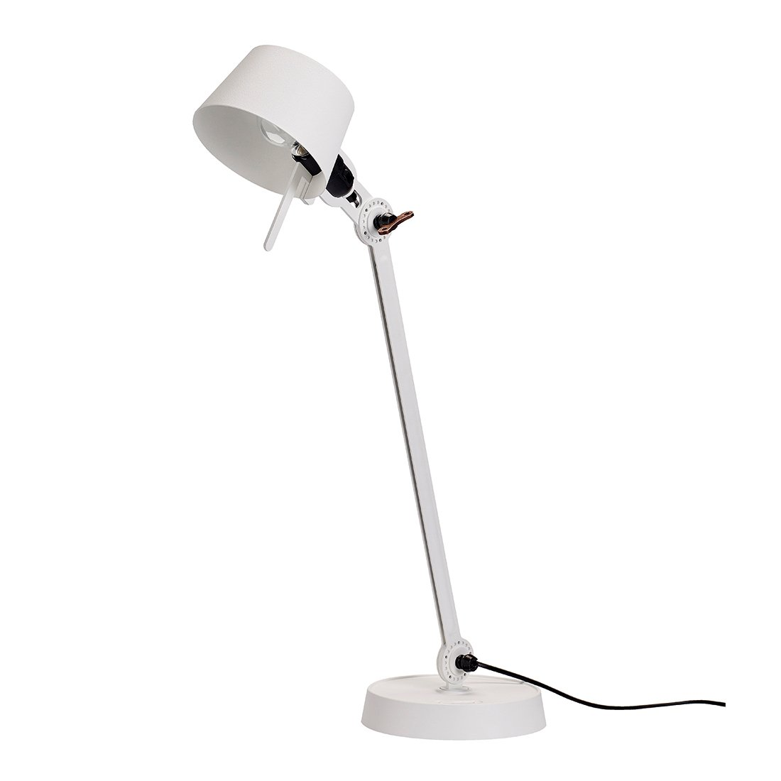 Tonone Bolt Bureaulamp E�n Arm Met Voet Pure White