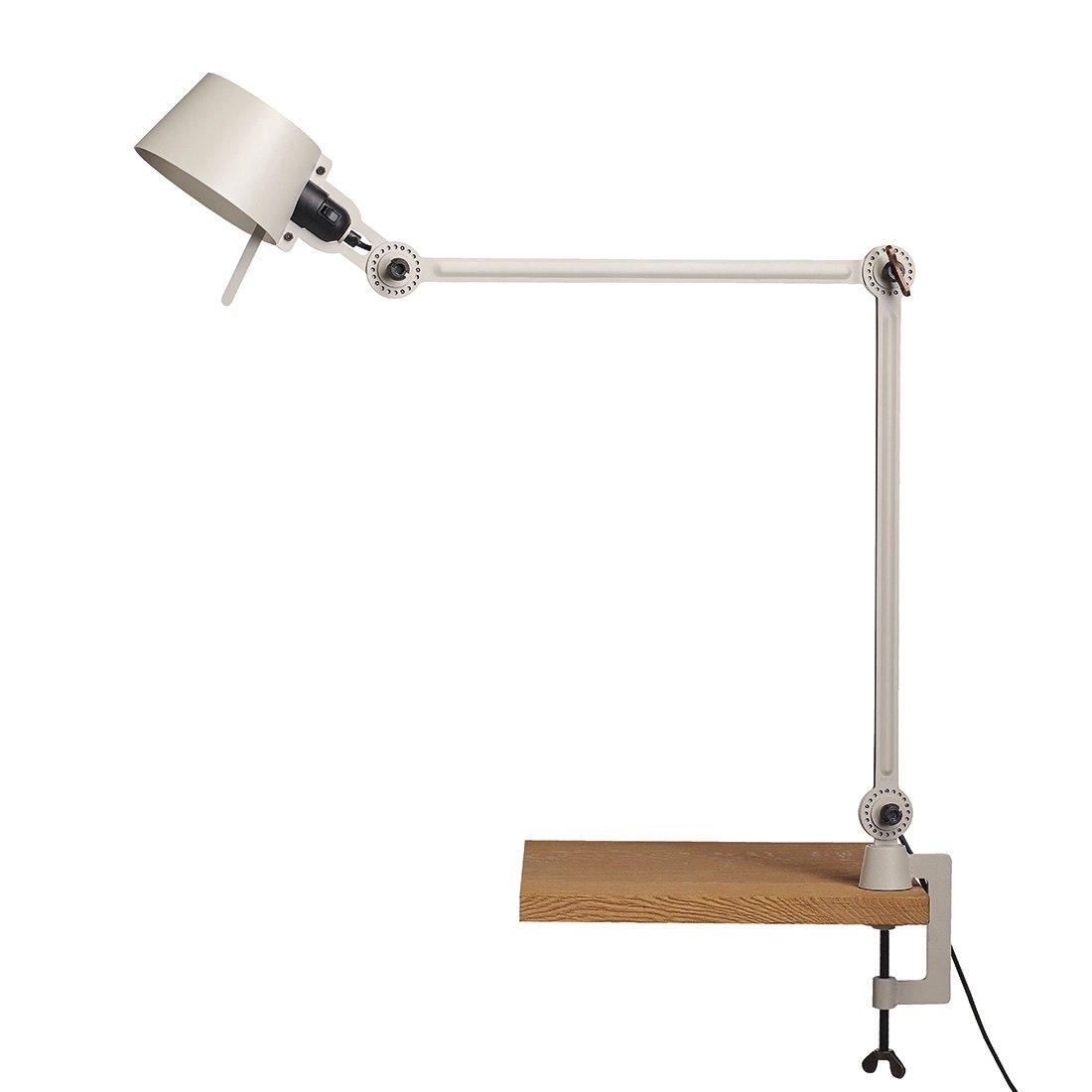 Tonone Bolt Bureaulamp Twee Armen Met Klem Ash Grey