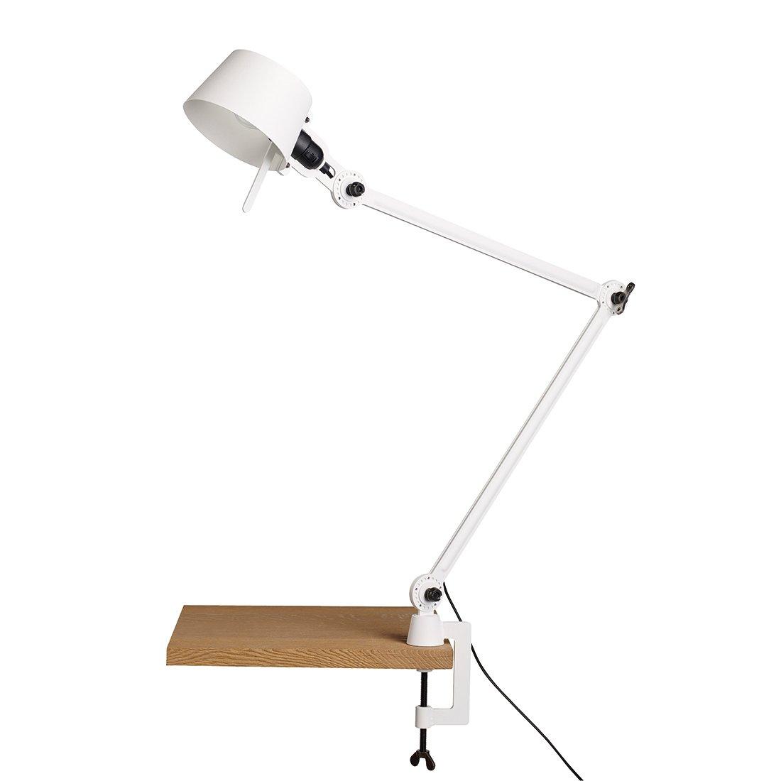 Tonone Bolt Bureaulamp Twee Armen Met Klem Pure White