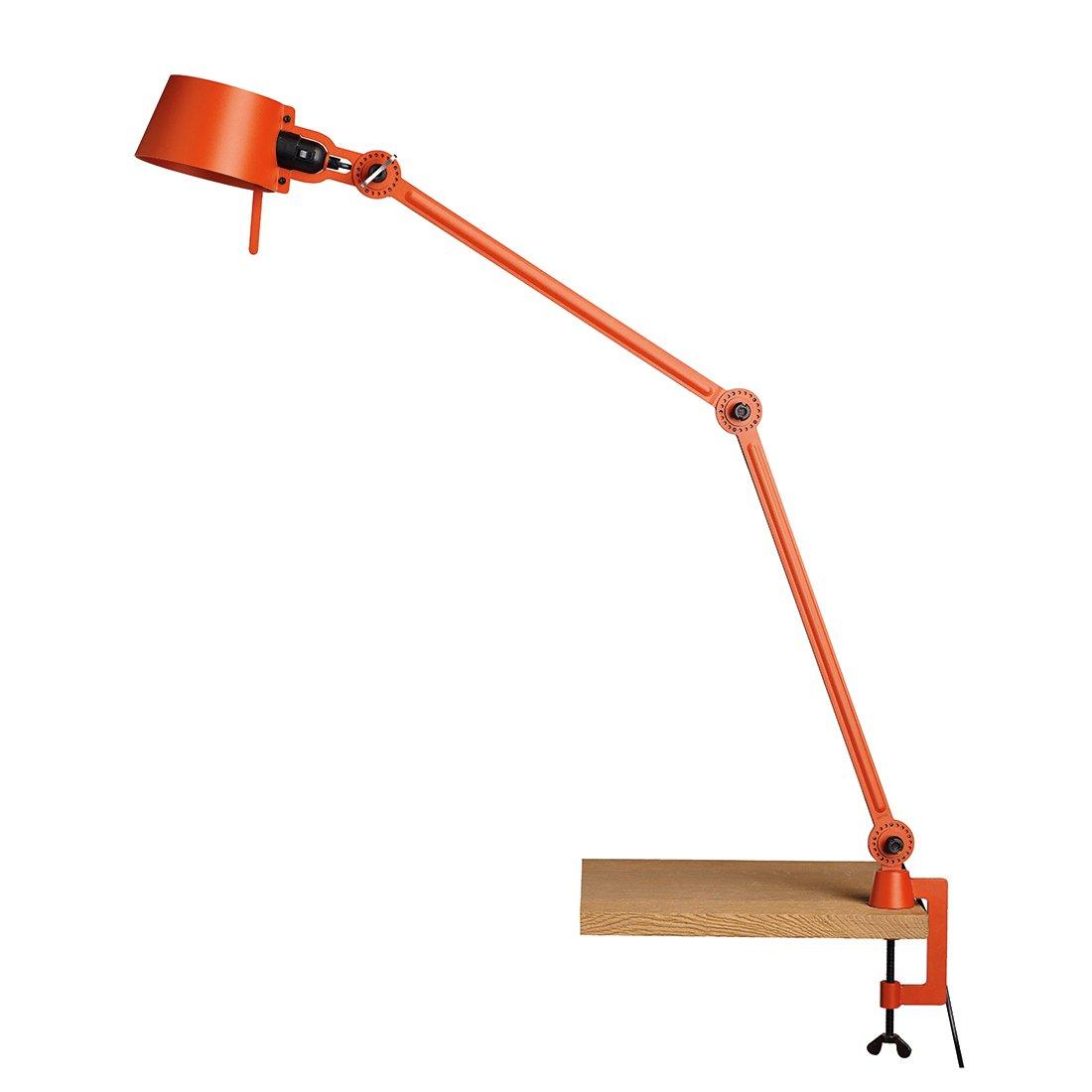 Tonone Bolt Bureaulamp Twee Armen Met Klem Striking Orange