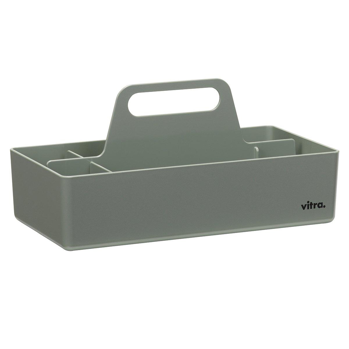 Vitra Storage Toolbox Opbergbak - Mosgrijs