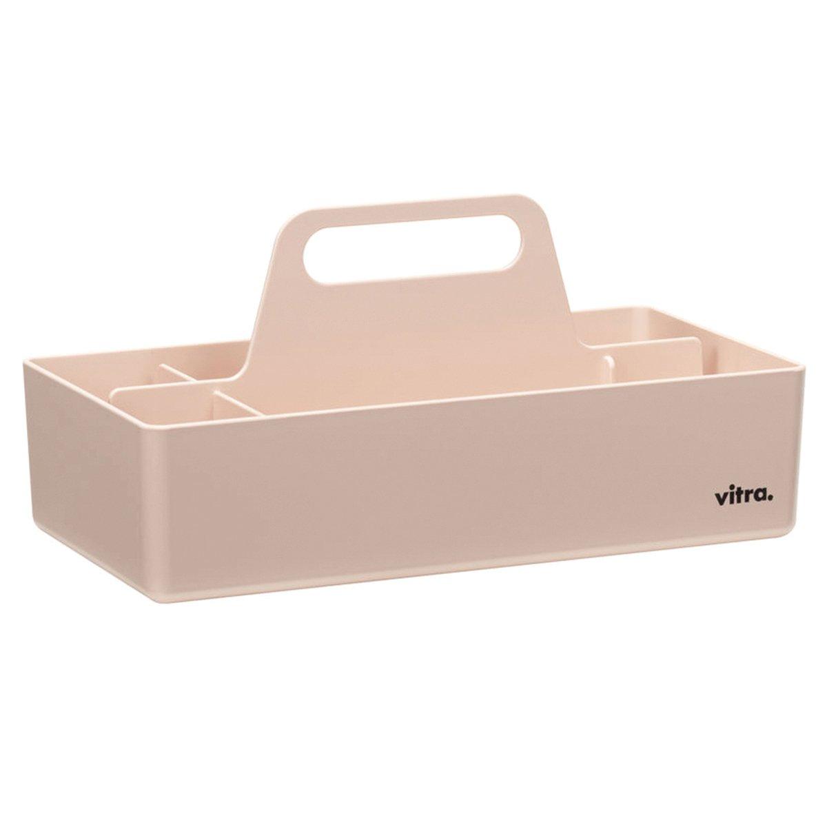 Vitra Storage Toolbox Opbergbak - Zachtroze