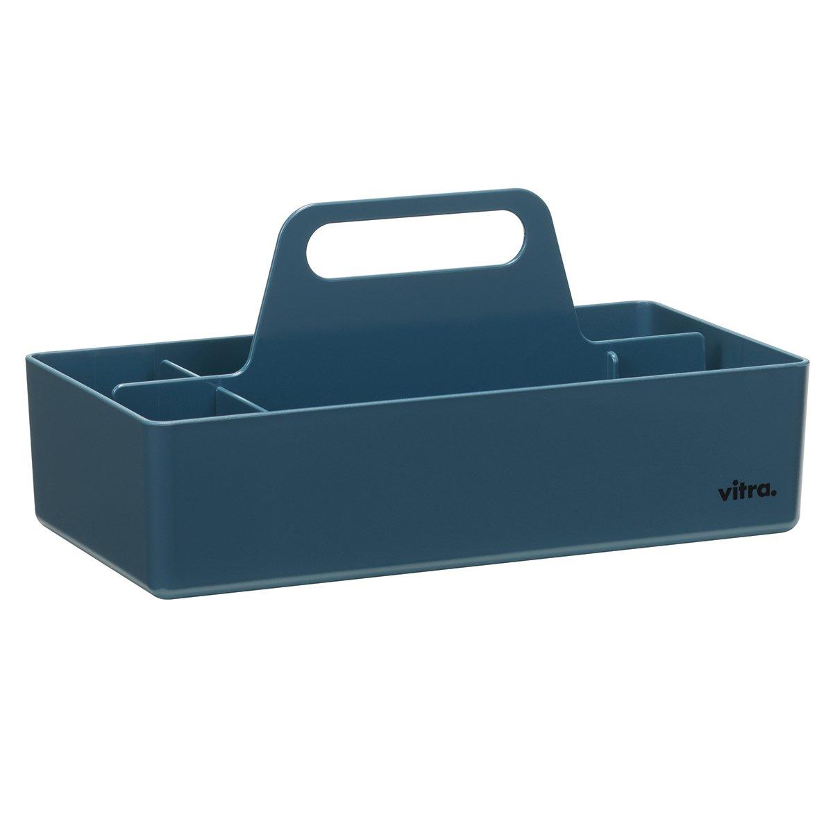 Vitra Storage Toolbox Opbergbak - Zeeblauw