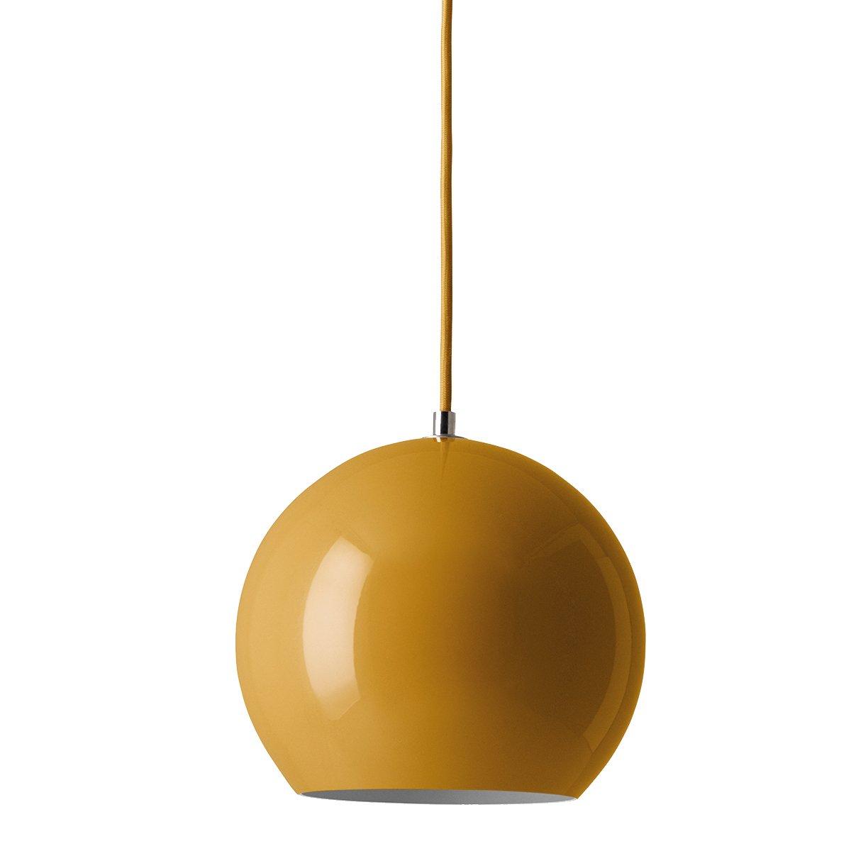 Topan VP6 Hanglamp - &Tradition - Mosterd
