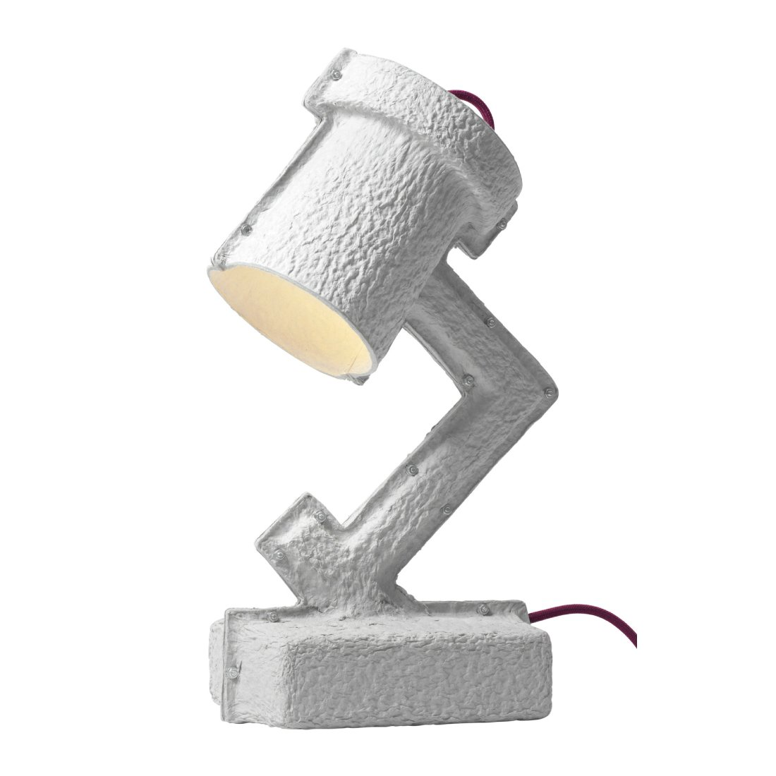 &Tradition Trash Me Tafellamp Rode Snoer