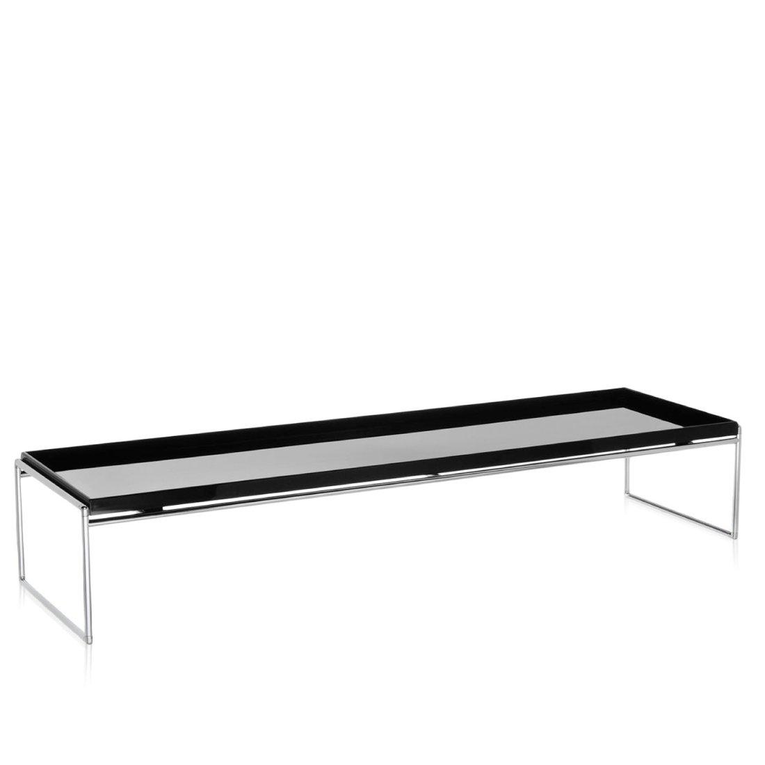 Kartell Trays Tafel 140 x 40 cm Zwart