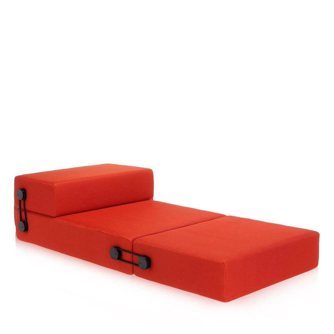 Kartell Trix Chaise Longue - Oranje