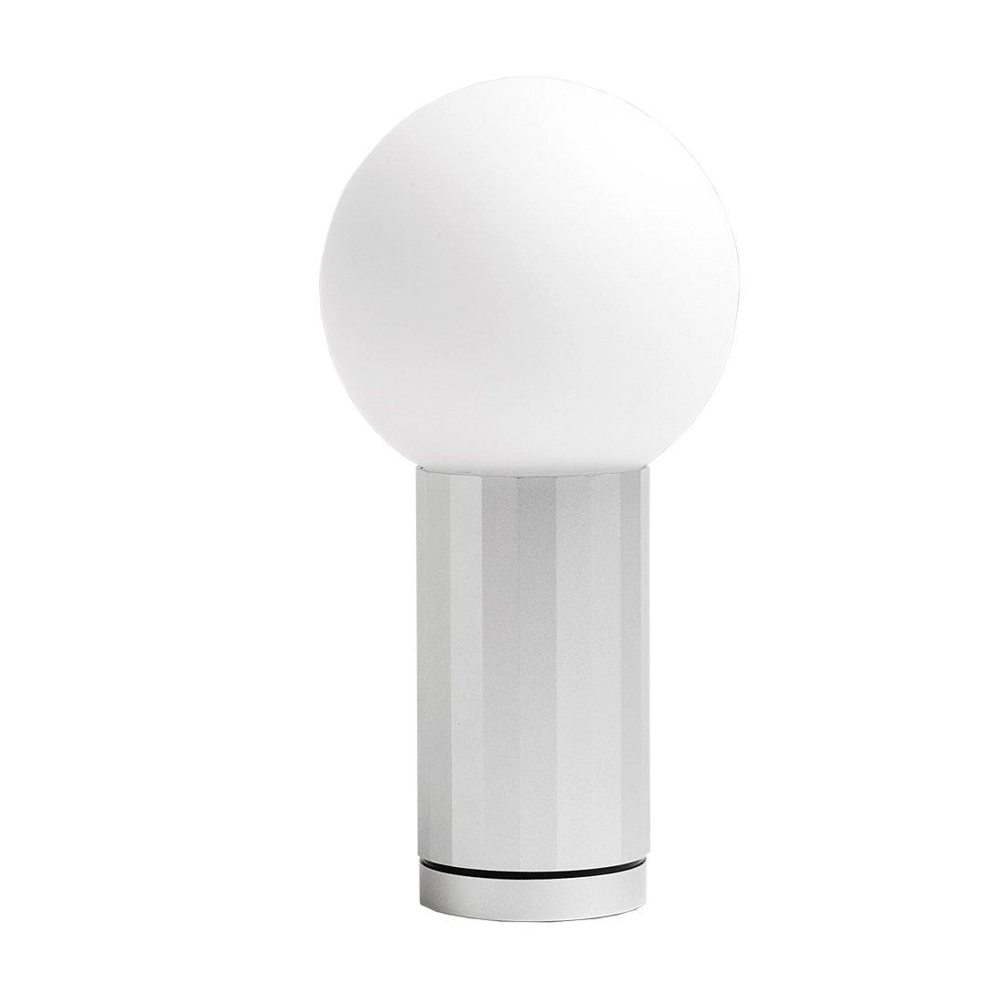 HAY Turn On Tafellamp - Aluminium