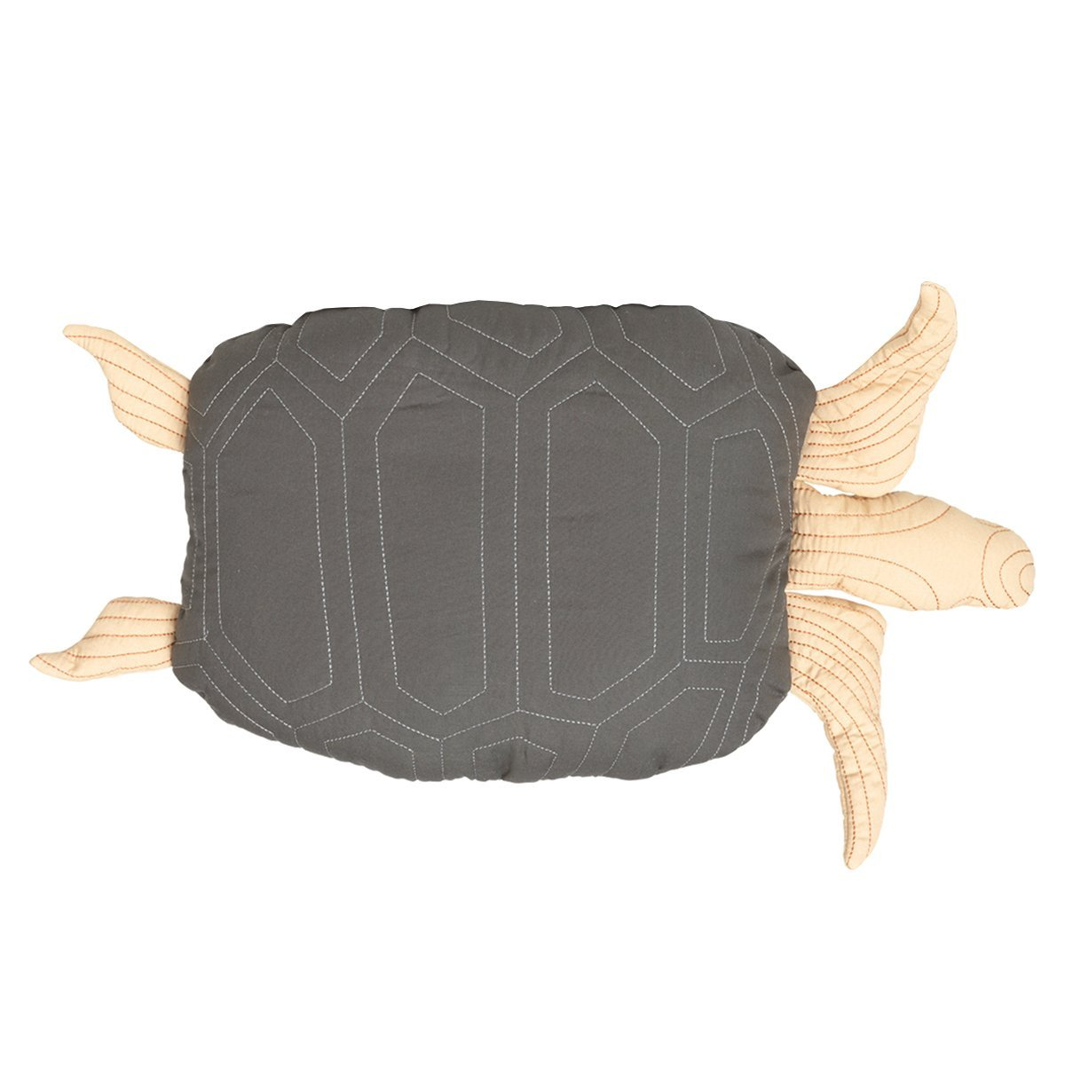 Ferm Living Turtle Quilted Kussen - 49 x 32 x 6 cm.
