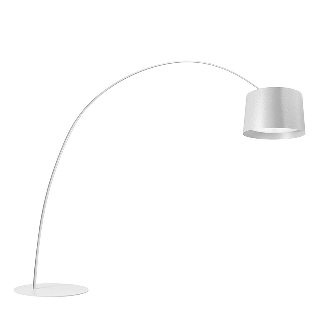 Foscarini Twice As Twiggy Vloerlamp - Wit