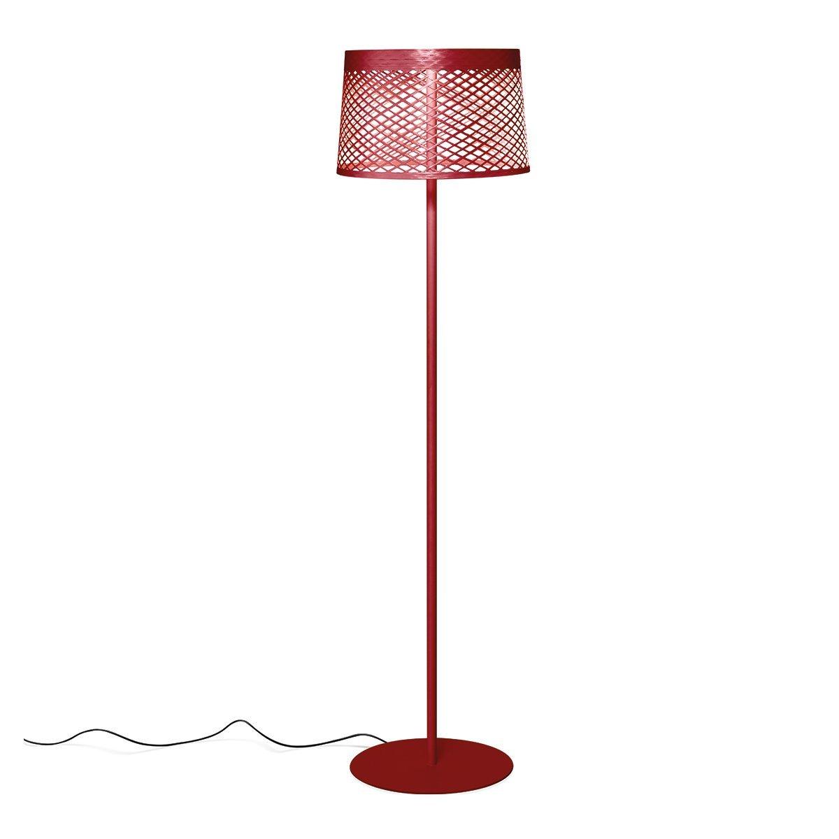 Foscarini Twiggy Grid Lettura Outdoor Vloerlamp Rood
