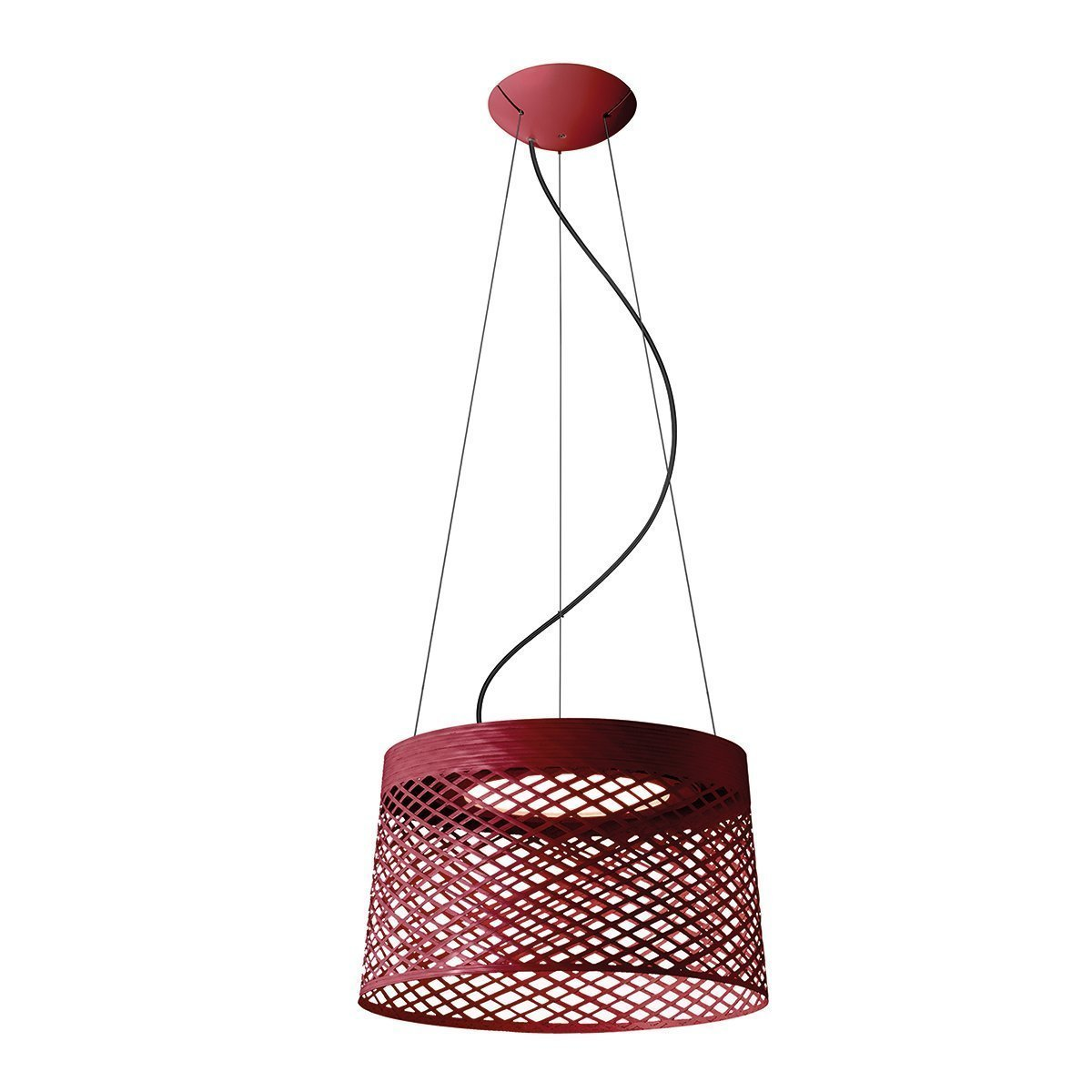 Foscarini Twiggy Grid Outdoor Hanglamp - Rood