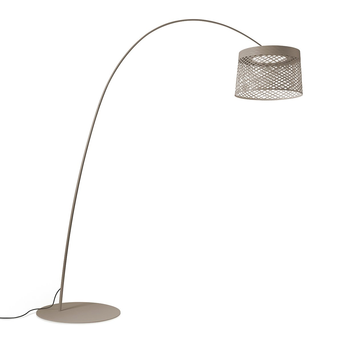 Foscarini Twiggy Grid Outdoor Vloerlamp Grijs