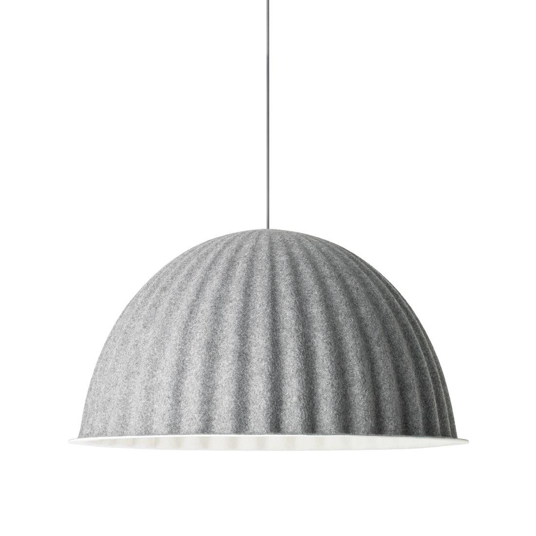 Muuto Under the Bell Hanglamp Grijs �82 cm.