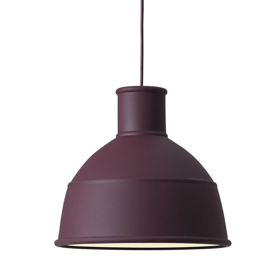 Muuto Unfold Hanglamp Burgundy
