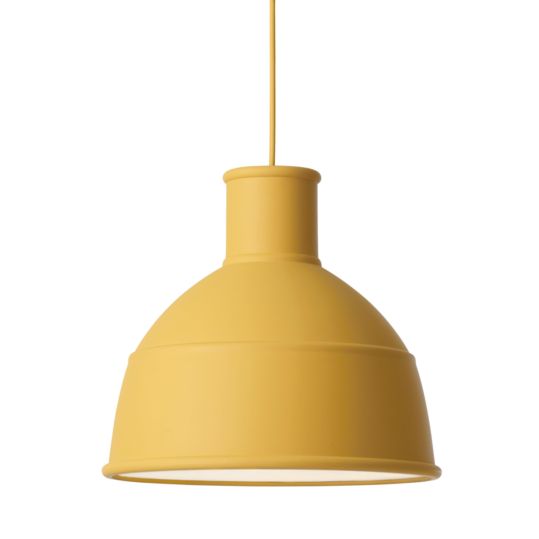 Muuto Unfold Hanglamp Mosterd