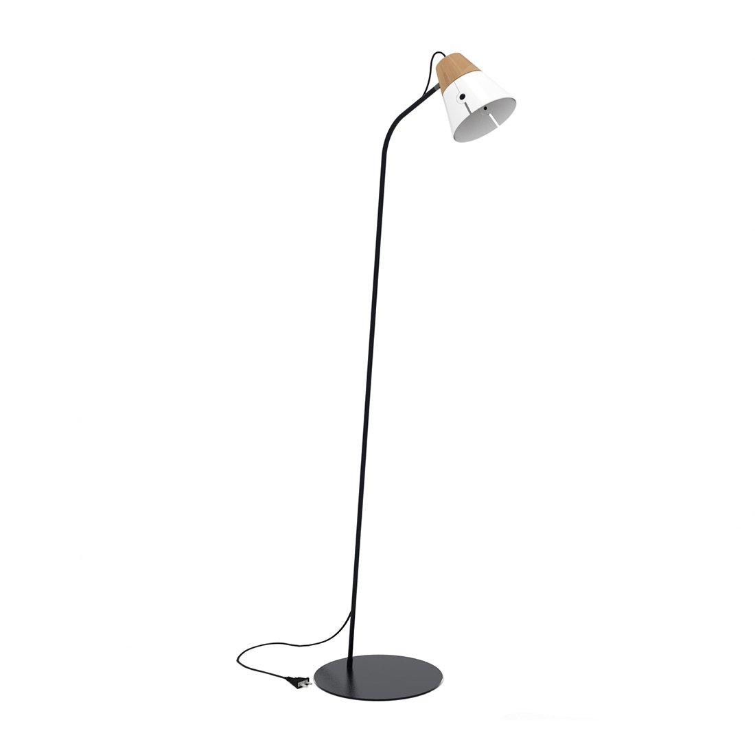 Ethnicraft Cone Vloerlamp Wit